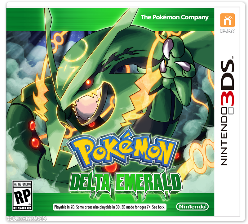 [OR/AS] Pokemon - Delta Emerald Rom Hack