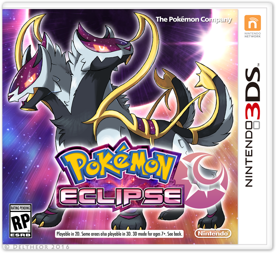 Pokemon Eclipse Boxart By Deltheor On Deviantart