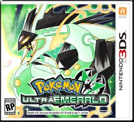 Pokemon Ultra Emerald Boxart by Deltheor