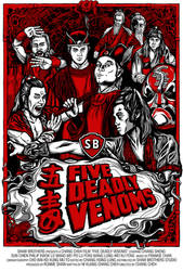 Five Deadly Venoms Movie Poster