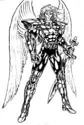 angel armor cerveros by kenchongo