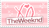 The Weeknd : Stamp by PasteISpells