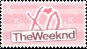 The Weeknd : Stamp by KIWIKlTTEN