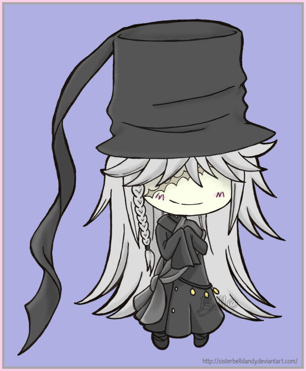 Chibi Undertaker By SisterBelldandy