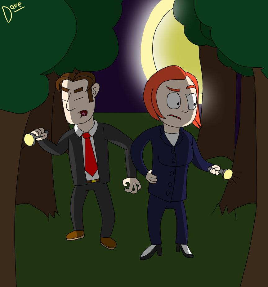 X-Files by ModernDav