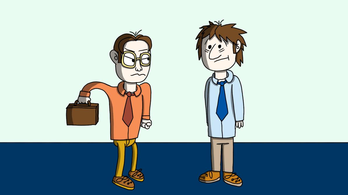 Dwight And Jim by ModernDav