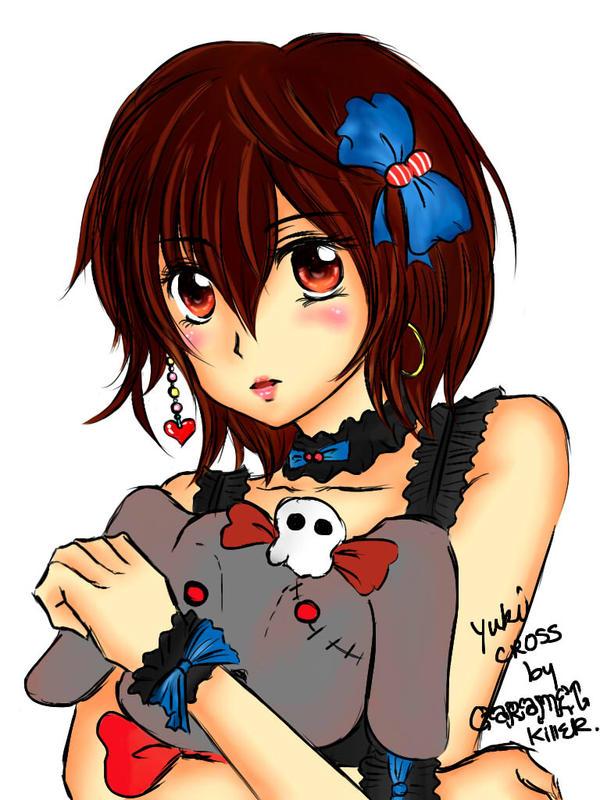 Yuki Cross Fan Art by Caramelkiller Tanweenie by tanweenie