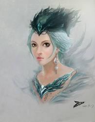 Unknown princess by ZFanfer