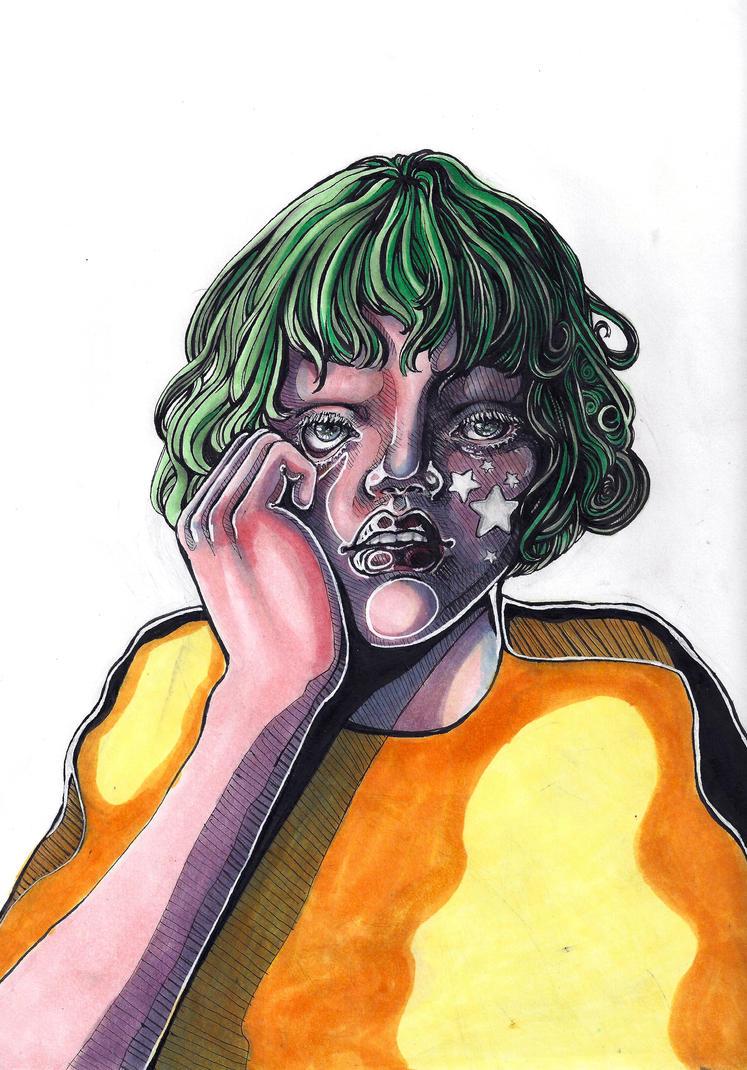 Video Girl by Phaaze-Dweller