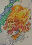 Jaki's tattoo design