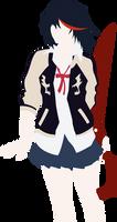 Minimalist Ryuuko by TheTokiEffect