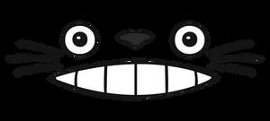 Totoro Face (Minimal)