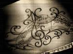 note music tattoo