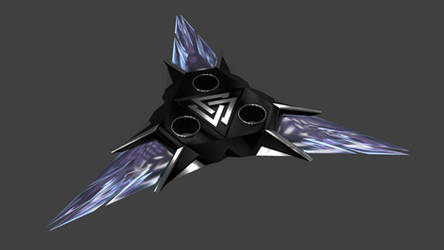 Arcanite Shuriken by TemplarianDX