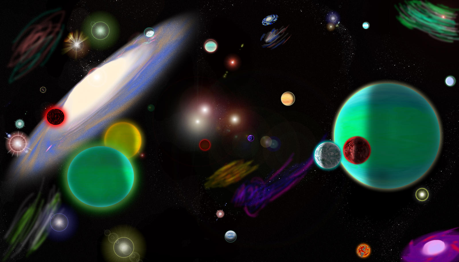 all planets in the galaxy - photo #36