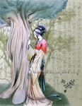 Chinese Damsel by TSUKIY0