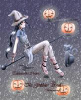A witch by TSUKIY0