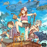 Fishermen by OGT-japan