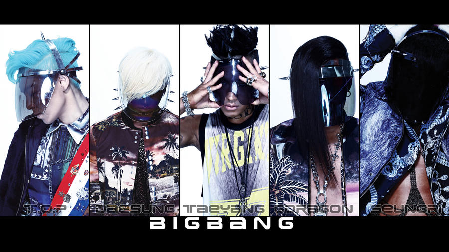 BIG BANG ALIVE Masks Widescreen Wallpaper by Suteisi on DeviantArt
