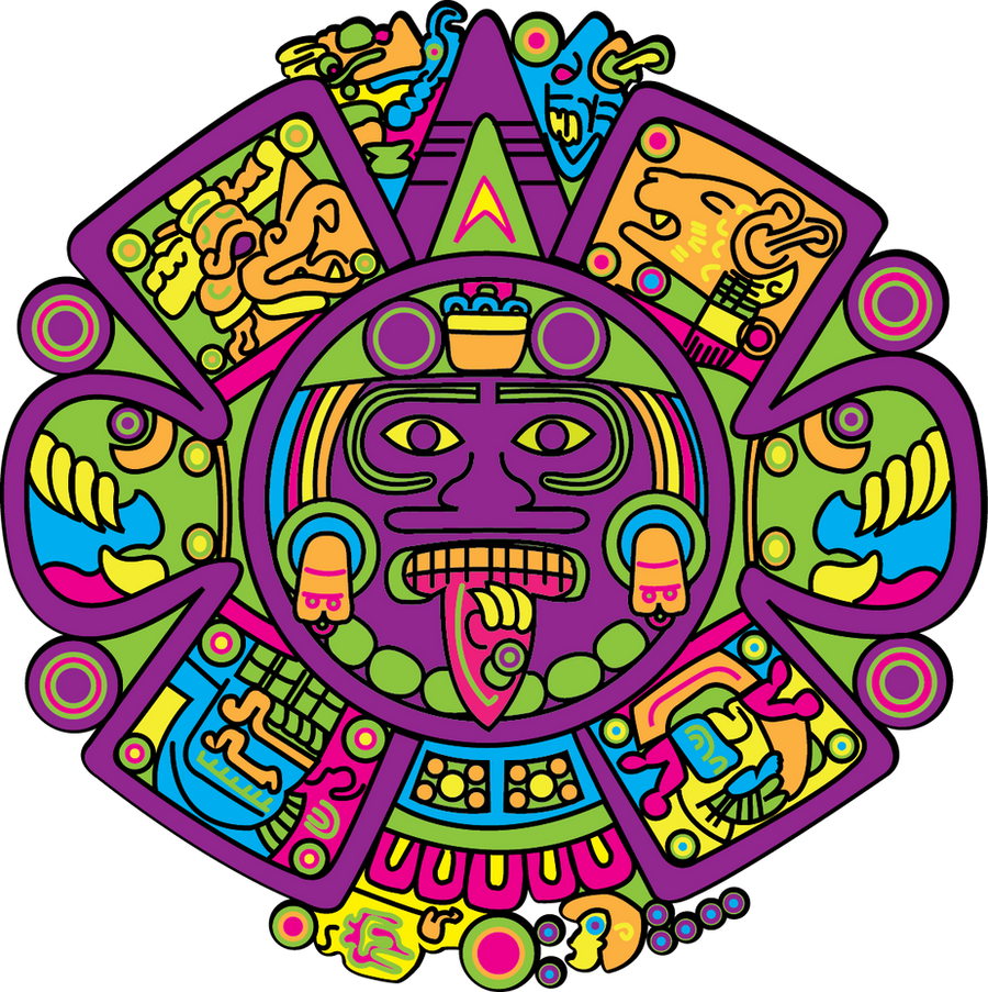My Aztec Calendar By Rakel8a