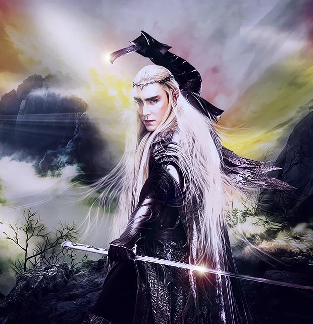 King Thranduil by I-vyD