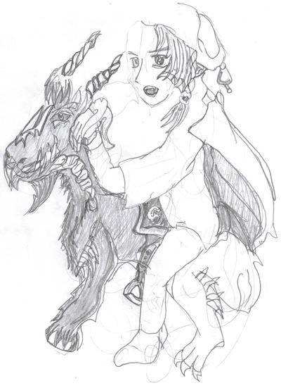 The 'Reign'deer by safirediaz