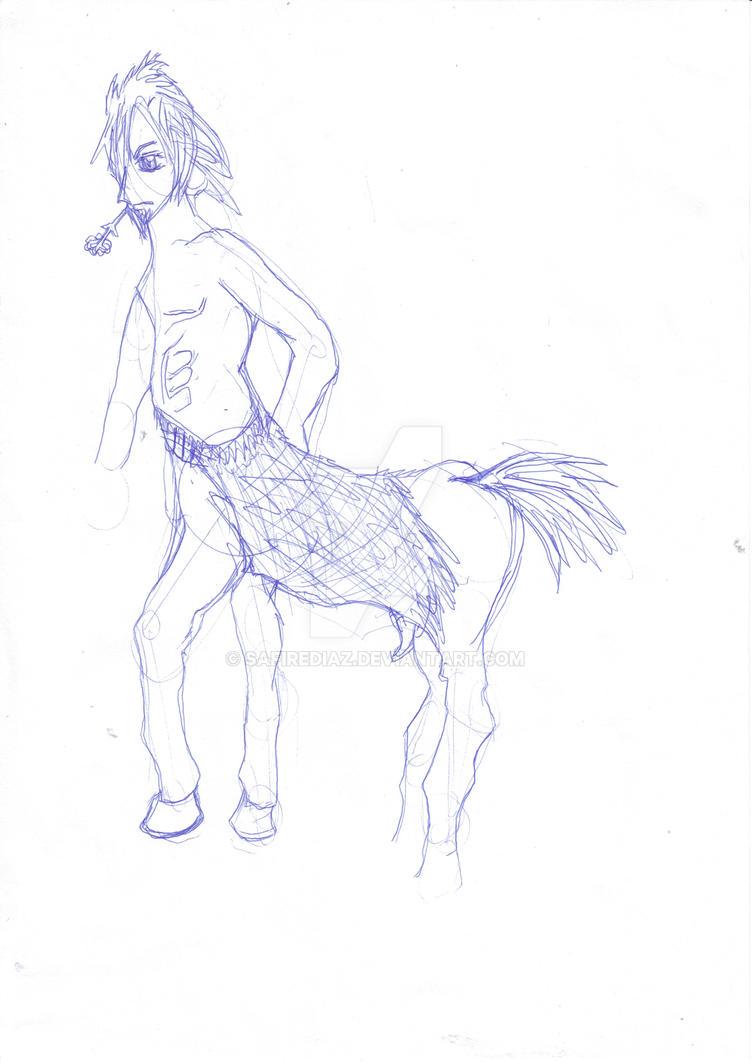 Centaur by safirediaz