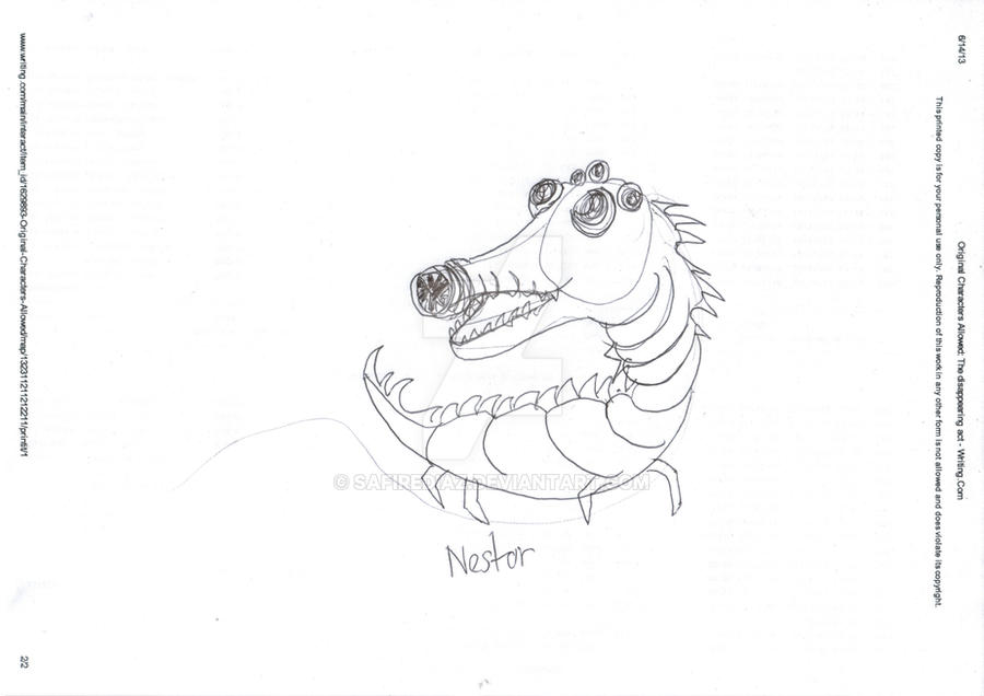 Nestor by safirediaz