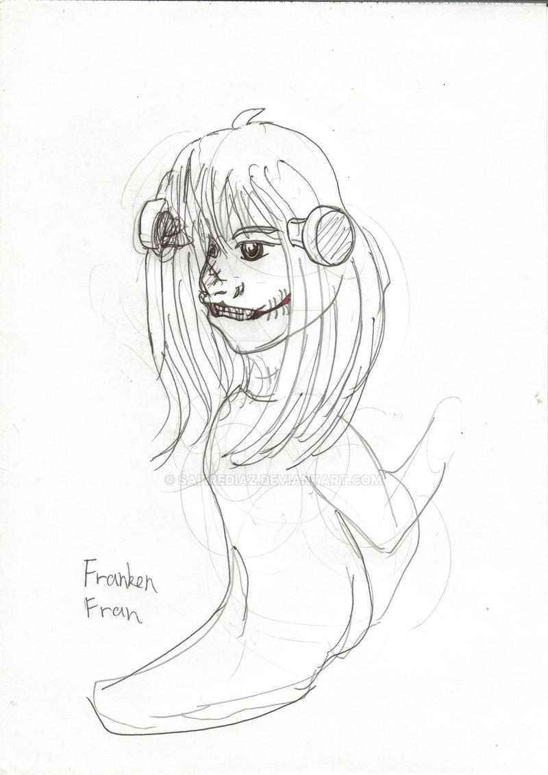 Franken Fran by safirediaz