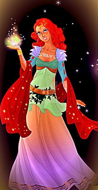 The Goddess, Val'anyr by safirediaz