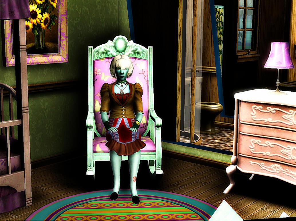 Sims 3 Supernatural: Koya Myoin by safirediaz