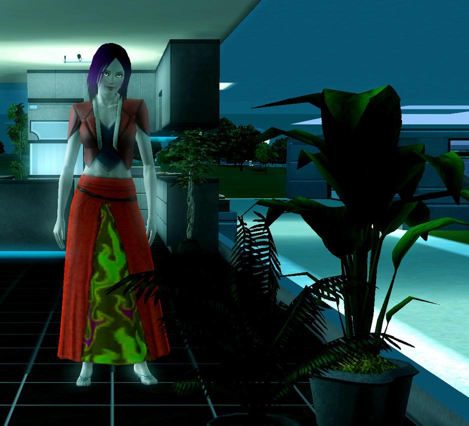 Sims 3 Into the Future: Odaxitar Jinitro by safirediaz