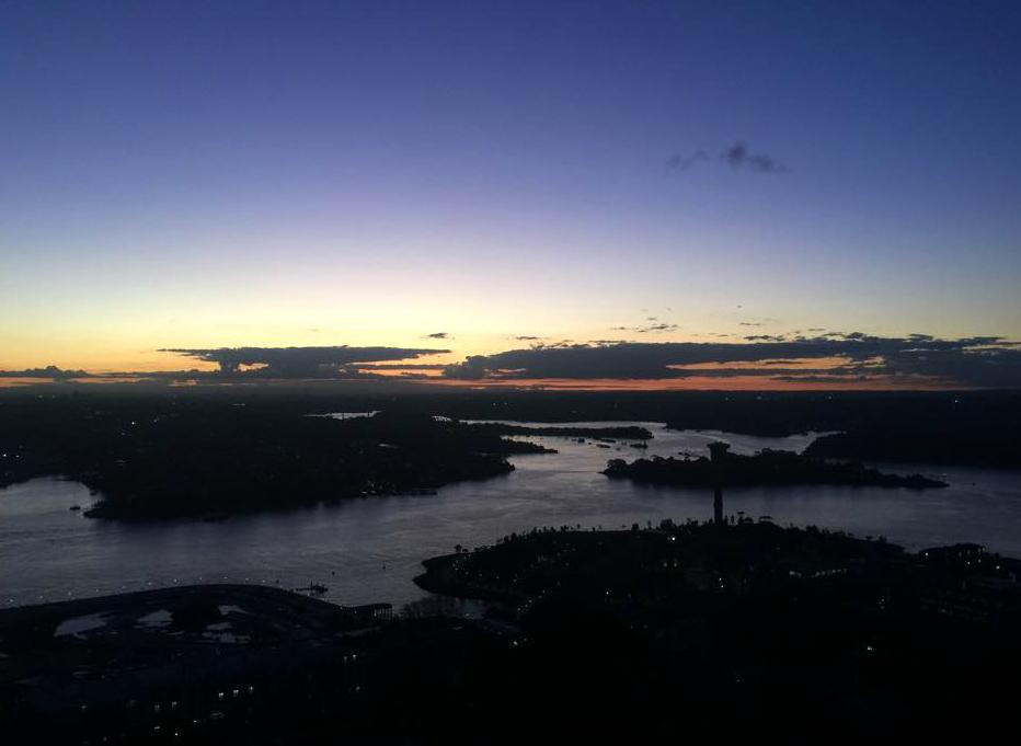 Sydney at Twilight by safirediaz