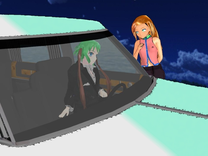 MMD: Car by safirediaz