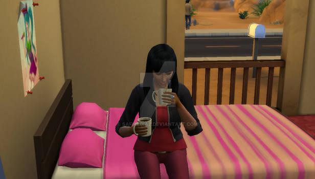 Kotone and Coffee