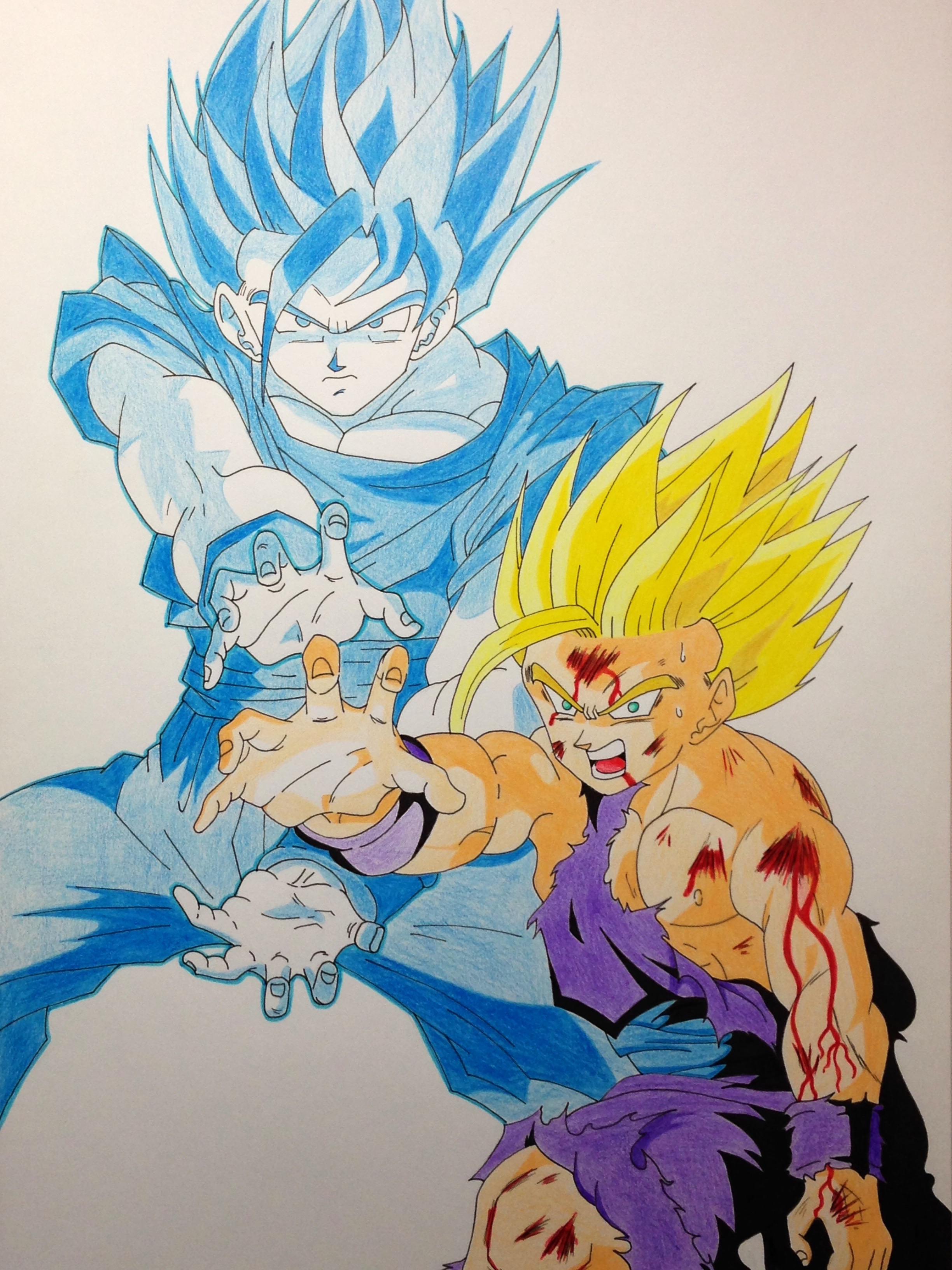 ... Father-Son Kamehameha!! by ughito