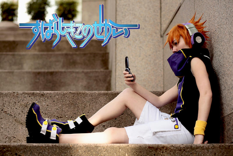 The World Ends With You Shiki Cosplay