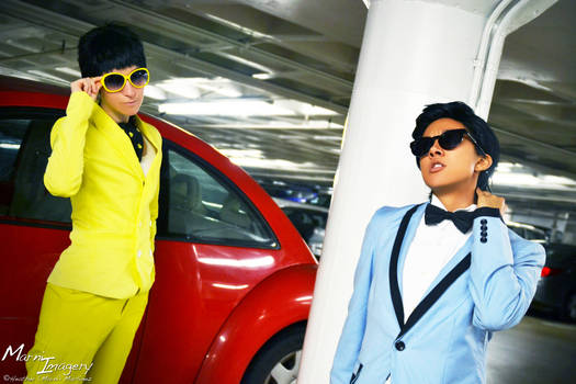 Jae Suk and PSY