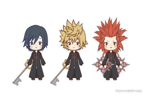 Kingdom Hearts 358/2 Days Chibi