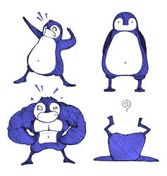 Webcomic Idea - Penguins