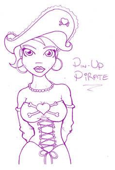 Pin-Up Pirate 002