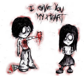 I Give You My Heart by Wajaholic