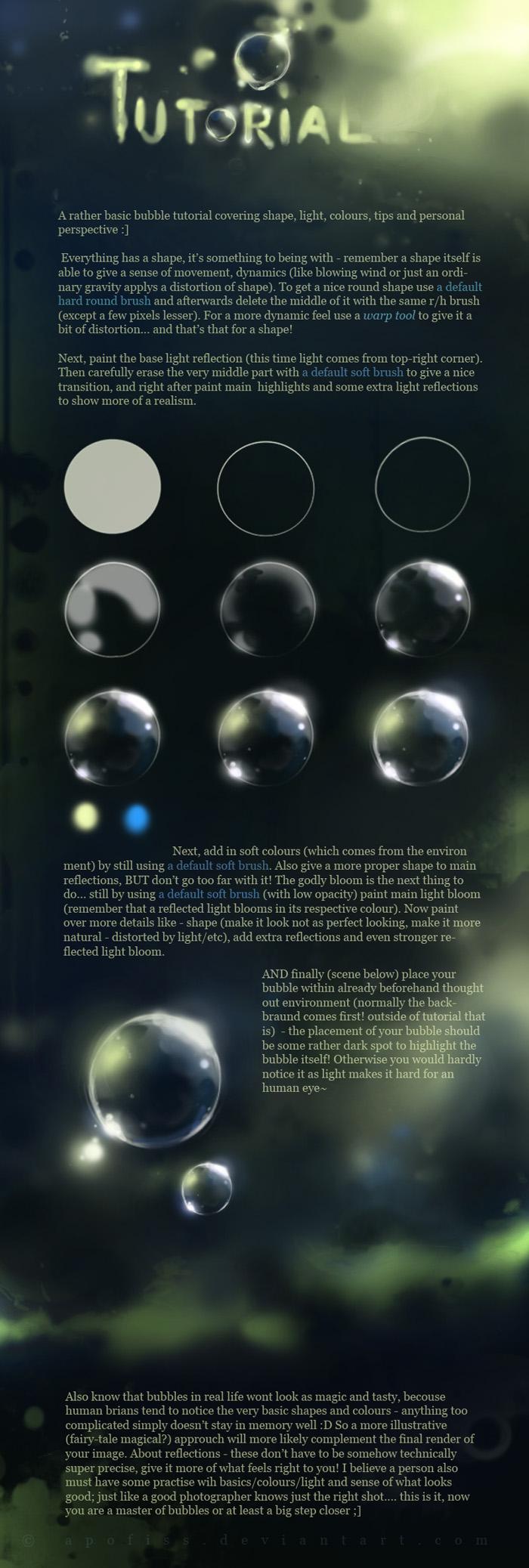 MAGIC bubble tutorial by Apofiss