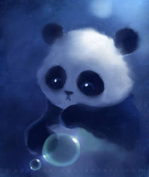 panda by Apofiss