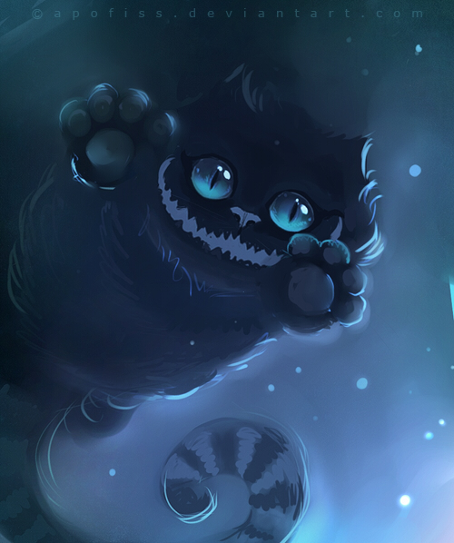 cheshire cat by Apofiss
