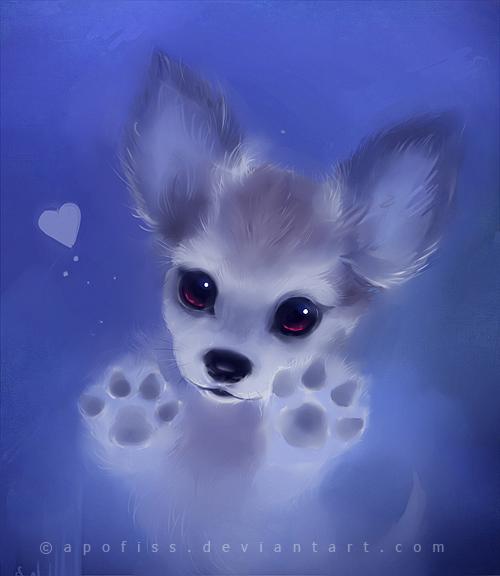 cute anime dog wallpaper - photo #19