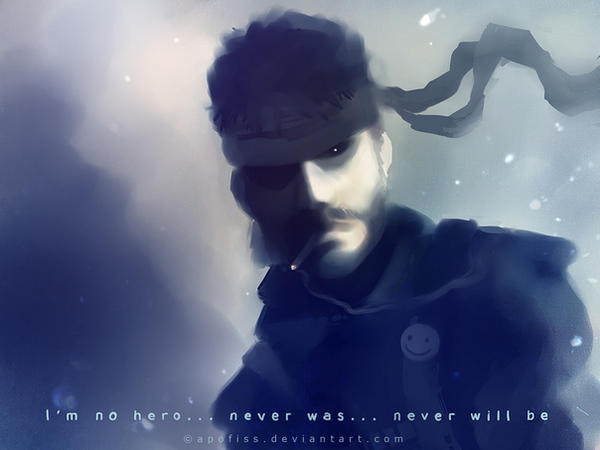 no hero by Apofiss