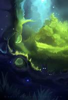 deep swamp by Apofiss