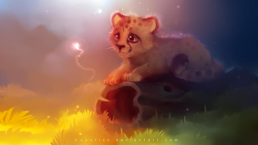 cheetah by Apofiss