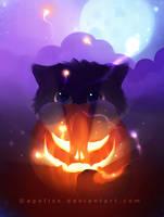 halloween yin by Apofiss
